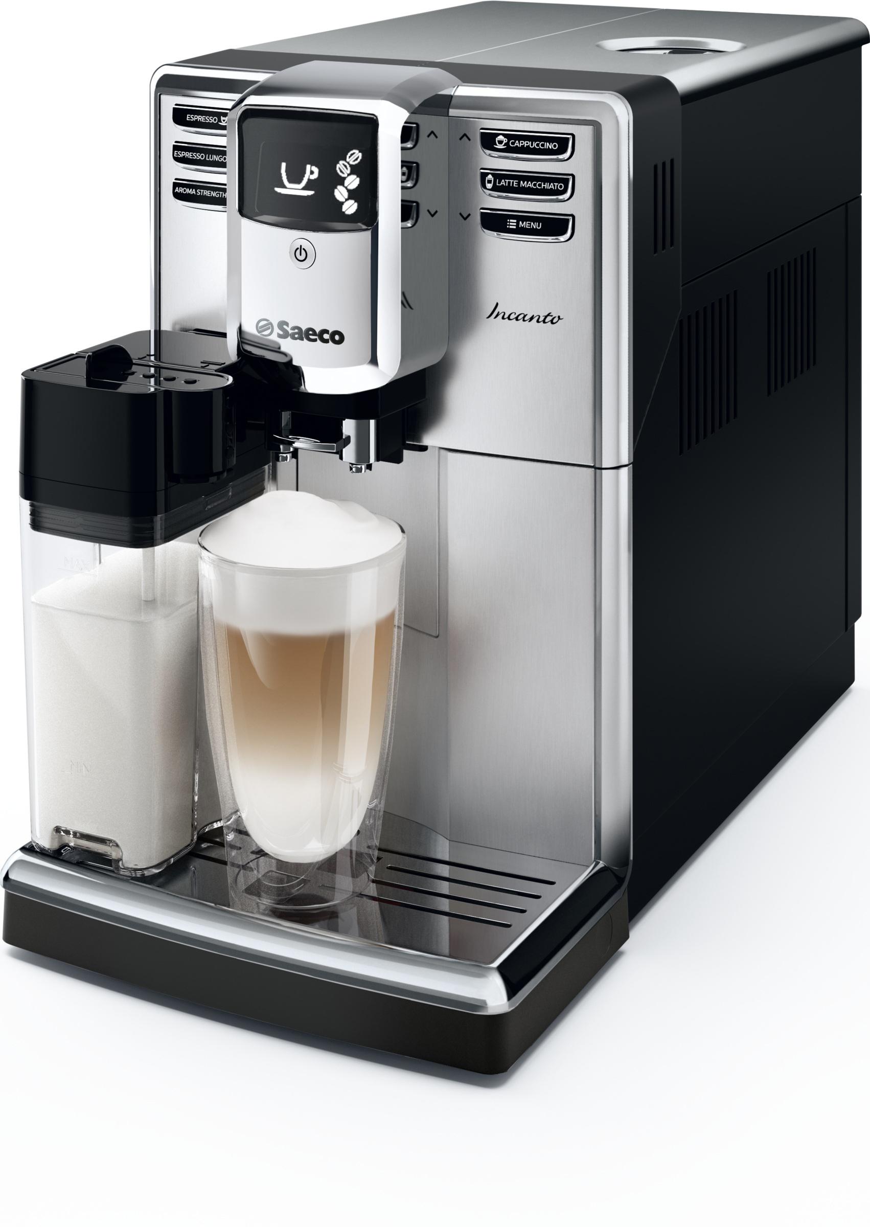 Die neue Saeco Incanto mit AquaClean Filter vereint exzellente Kaffeequalität und elegantes Design