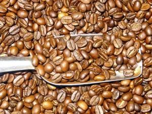 Artikelgebend sind hell geröstete Kaffeebohnen